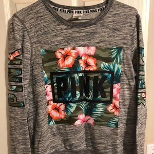 Victoria Secret Pink long sleeve shirt size small